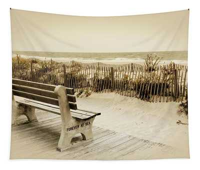 Forever At Sea - Jersey Shore Tapestry