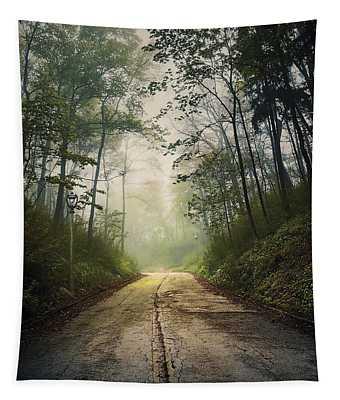Forsaken Road Tapestry
