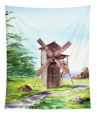 Fort Ross Windmill  Tapestry