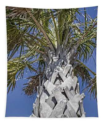 Fortified Foundation Palm Tapestry