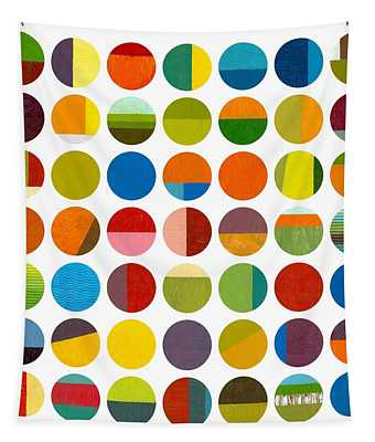 Forty Nine Circles Tapestry