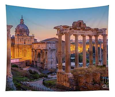 Forum Romanum Dawn Tapestry