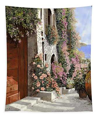 four seasons- spring in Tuscany Tapestry