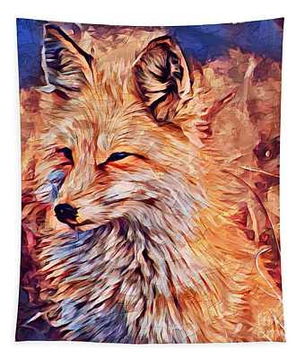 Fox 2 Tapestry