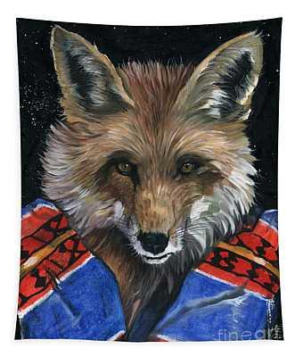 Fox Medicine Tapestry