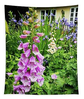 Garden Foxgloves Tapestry