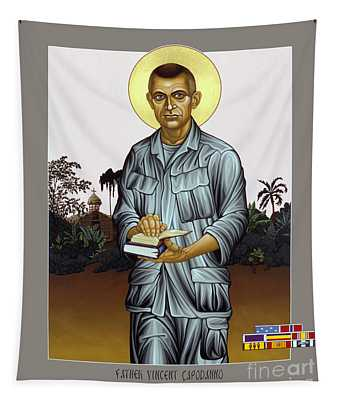 Fr. Vincent Capodanno, The Grunt Padre - Lwvcd     Tapestry