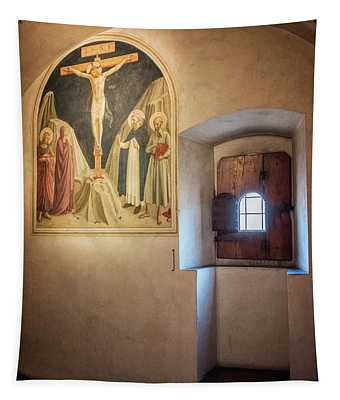 Fra Angelico Fresco Florence Italy Tapestry