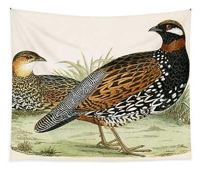 Francolin Tapestry