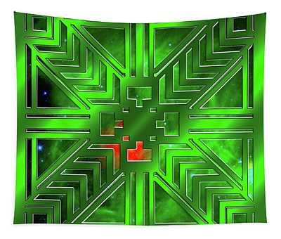 Frank Lloyd Wright Design Tapestry
