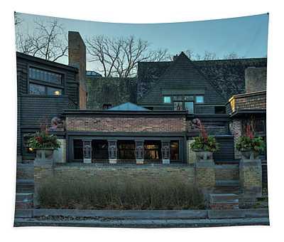 Frank Lloyd Wright Home And Studio Oak Park Illinois Tapestry