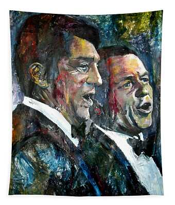 Frank Sinatra And Dean Martin Tapestry