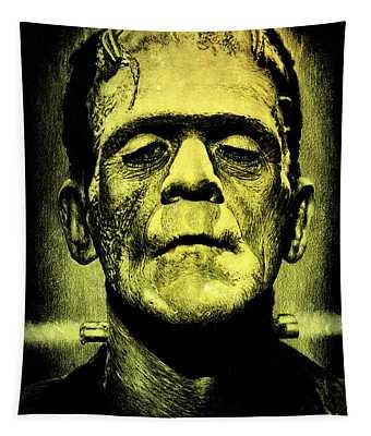 Frankenstein Green Glow Version Tapestry