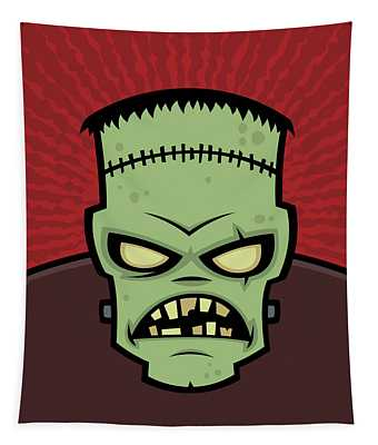 Frankenstein Monster Tapestry