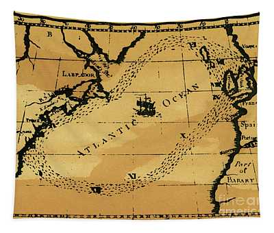 Franklin Chart, 1786 Tapestry