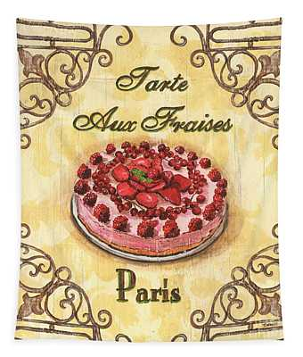 French Pastry 1 Tapestry