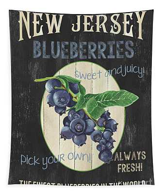 Fresh Berries 1 Tapestry