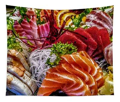 Fresh Fish Tapestry