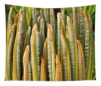 Fresh Fronds Tapestry