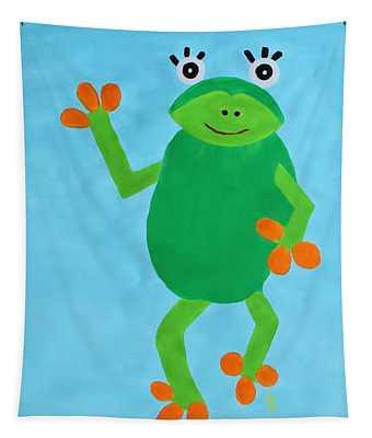 Froggie Tapestry