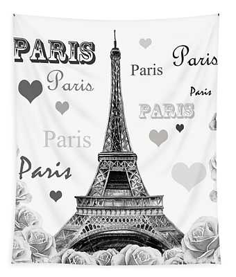 From Paris With Love Tapestry