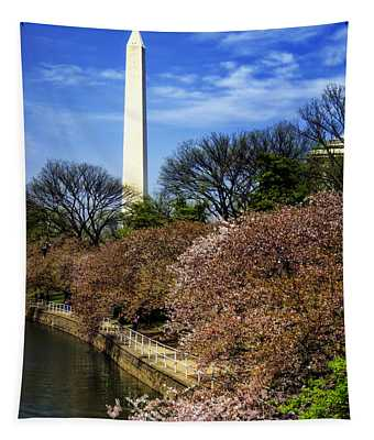 From The Basin To The Monument Tapestry