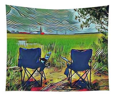 Front Row Seat Tapestry