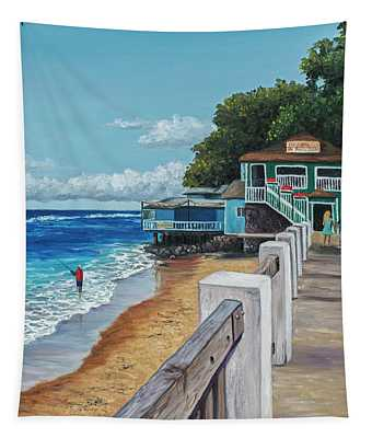 Front Street Lahaina Tapestry