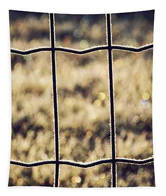 Frozen Fence Tapestry