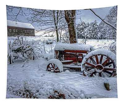 Frozen Relics Tapestry