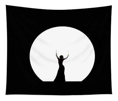 Full Moon Dance Tapestry