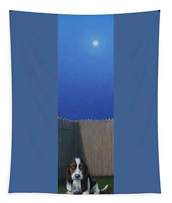 Hound Paintings Wall Tapestries