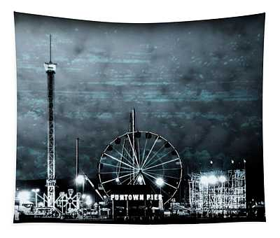 Fun In The Dark - Jersey Shore Tapestry