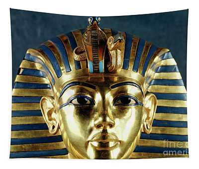 Funerary Mask Of Tutankhamun Tapestry