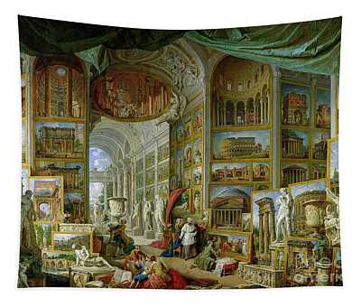 Gallery Of Views Of Ancient Rome Tapestry