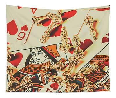 Games Of Love Tapestry