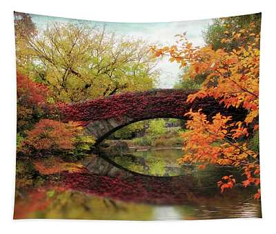 Tapestry featuring the photograph Gapstow Glory by Jessica Jenney