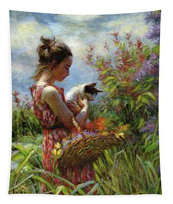 Garden Gatherings Tapestry