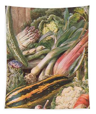 Garden Vegetables Tapestry