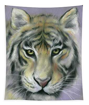 Gazing Tiger Tapestry