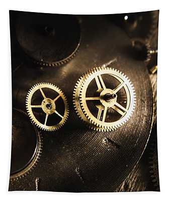 Gears Of Automation Tapestry