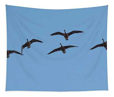 Geese Overhead Tapestry