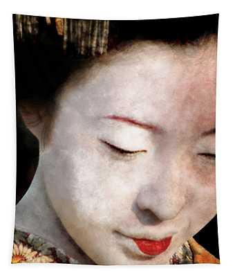 Geisha Girl Tapestry