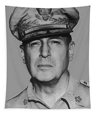 General Douglas Macarthur Tapestry