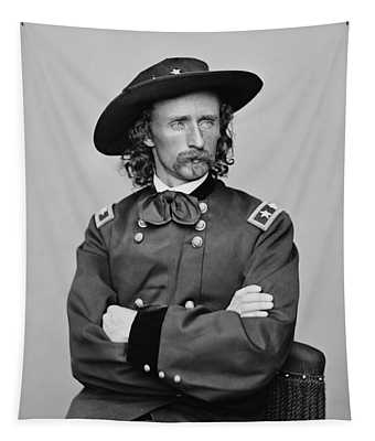 General George Armstrong Custer Tapestry