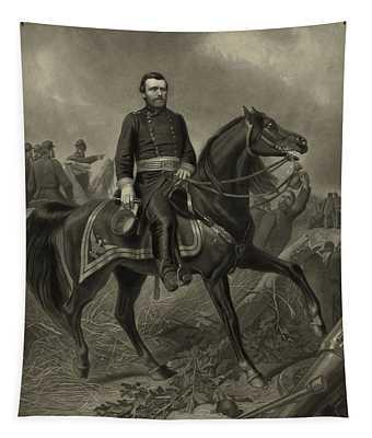 General Grant On Horseback  Tapestry