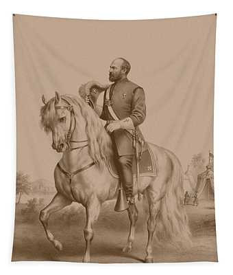 General James Garfield Tapestry