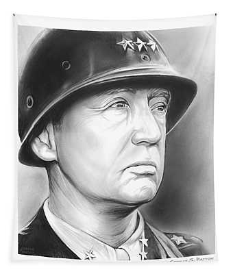 General Patton Tapestry