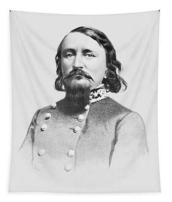 General Pickett - Csa Tapestry