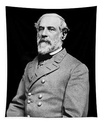 General Robert E Lee - Csa Tapestry